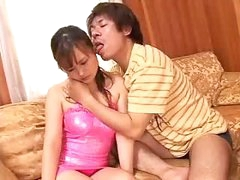 Busty Japanese Asian Getting Pussy Wet by NakedXCamscom